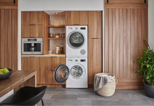 Bosch 500 Series Washer & Heat Pump Dryer