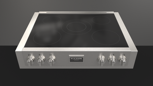 "Fulgor Milano Sofia 36"" 600 Series Professional Induction Range Top"