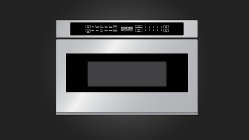 "Fulgor Milano 24"" 700 Series Drawer Microwave"
