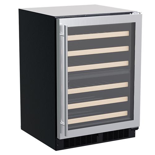 """Marvel 24"""" Dual-Zone Wine Refrigerator (Door Options)"""