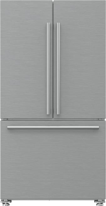 """Blomberg 36"""" Freestanding French Door Fridge"""