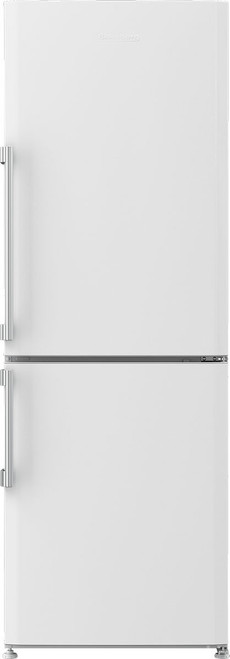 "Blomberg 24"" Freestanding Fridge - White (H - 68 5/8"")"