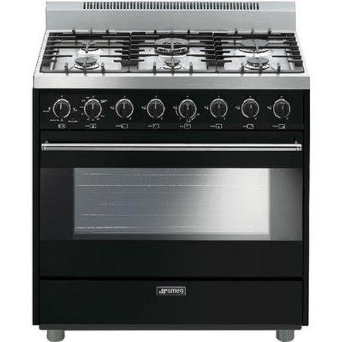"Smeg 36"" All Gas Range w/ Color Options"