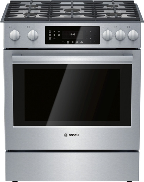 Bosch Gas 800 Series Slide-In Range