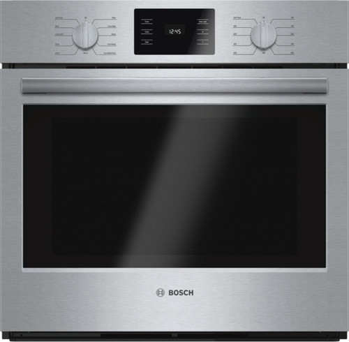 "Bosch 30"", 500 Series, Single Wall Oven - True European Convection"