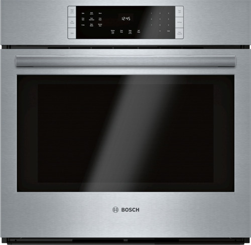 """Bosch 30"""" 800 Series Single Wall Oven - Stainless"""