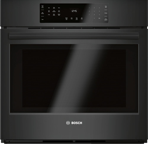 "Bosch 30"", 800 Series, Single Wall Oven - Black"