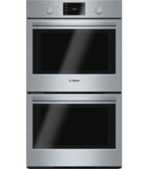 "Bosch 30"" 500 Series Double Wall Oven - True European Convection"