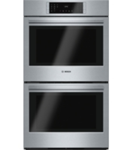 """Bosch 30"""" 800 Series Double Wall Oven - Stainless"""