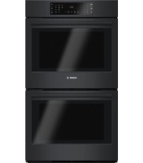 "Bosch 30"", 800 Series, Double Wall Oven - Black"
