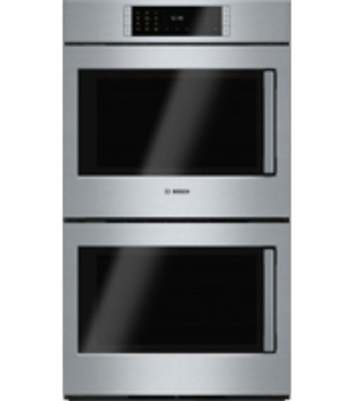 "Bosch 30"" Benchmark Series Double Wall Oven - Right or Left Swing Door"
