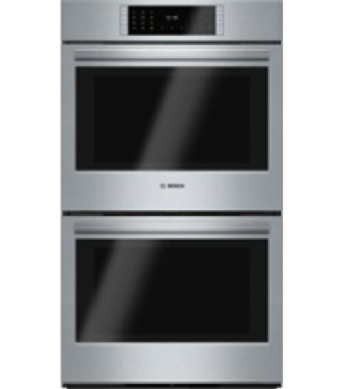 """Bosch 30"""" Benchmark Series Double Wall Oven - Drop Down Door"""