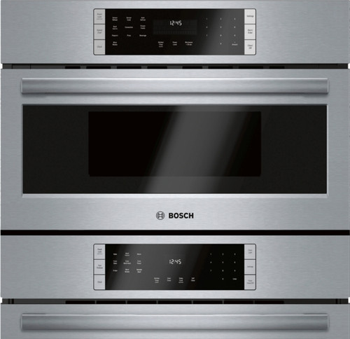 "Bosch 30"" 800 Series Micro-Speed & Wall Oven"