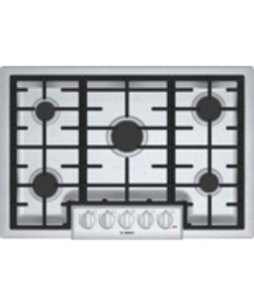 "Bosch 30"" 800 Series Gas Cooktop - Stainless"