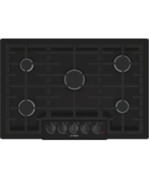 "Bosch 30"" 800 Series Gas Cooktop - Black Stainless"