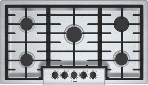 "Bosch 36"" 500 Series Gas Cooktop"