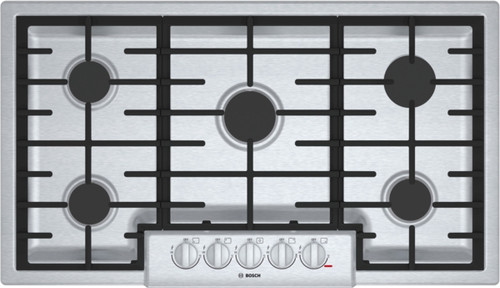 "Bosch 36"" 800 Series Gas Cooktop - Stainless"