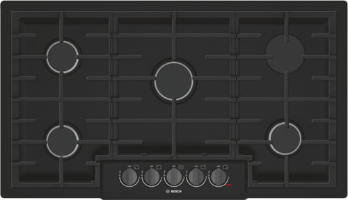 "Bosch 36"" 800 Series Gas Cooktop - Black"