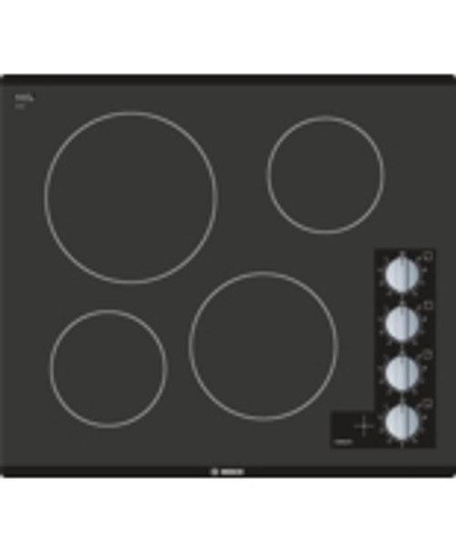 "Bosch 24"" 500 Series Electric Radiant Cooktop - Frameless"