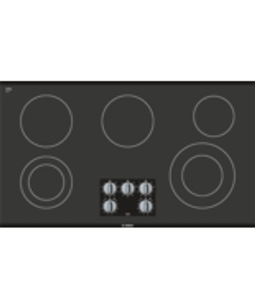 "Bosch 36"" 500 Series Electric Radiant Cooktop"
