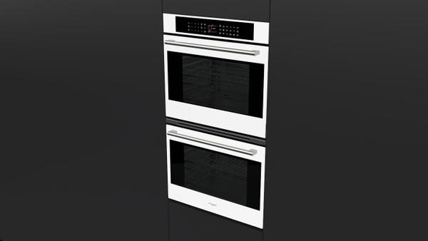"Fulgor Milano 30"" 700 Series Built-in Double Oven (White Glass)"