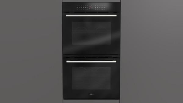 "Fulgor Milano 30"" 700 Series Built-in Double Oven (Black Glass)"