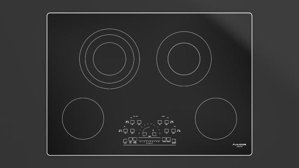 "Fulgor Milano 30"" 600 Series Electric Cooktop"