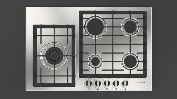 "Fulgor Milano 30"" 400 Series Gas Cooktop"