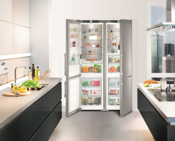"Liebherr 60"" Side-By-Side Freestanding Premium Plus Fridge/Freezer"