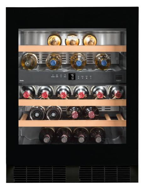 """Liebherr 24"""" Built-In Under Counter Wine Storage Cabinet -w/ TipOpen - Dual Zone"""