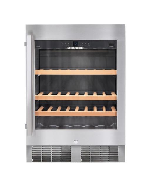 """Liebherr 24"""" Built-In Under Counter Wine Storage Cabinet - Single Zone"""