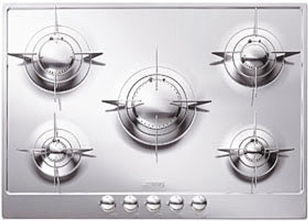 """Smeg 28"""" Piano Design Gas Cooktop"""