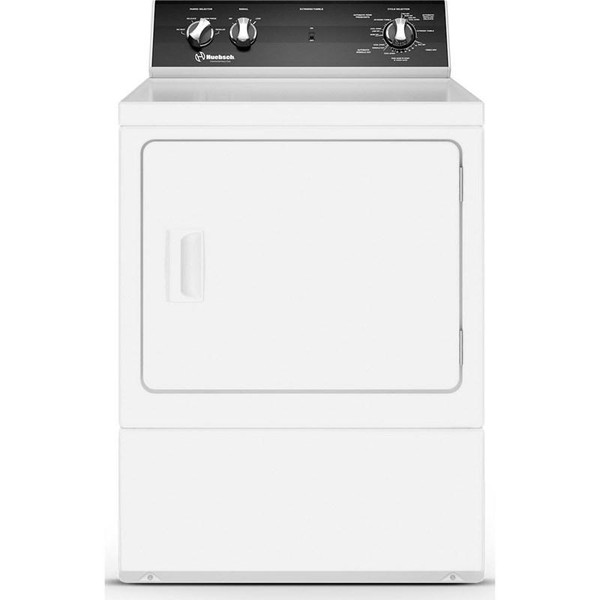 Huebsch Rear Control Electric Dryer w/ 4 Cycles