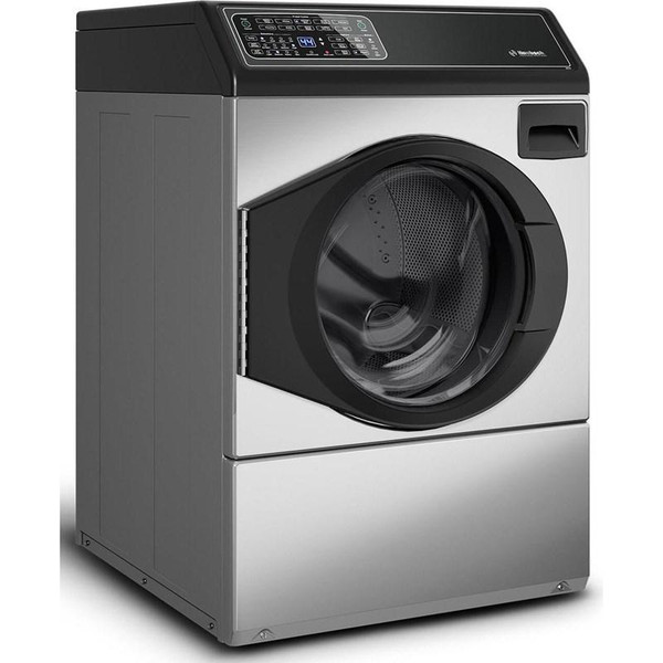 Huebsch Front Control Electric Dryer - Stainless Steel