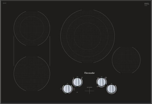 """Thermador 30"""" Electric Cooktop w/ Knob Control"""