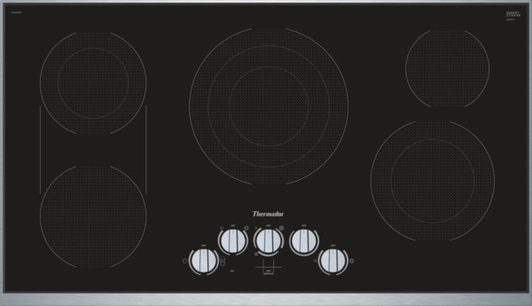 """Thermador 36"""" Electric Cooktop w/ Knob Control"""