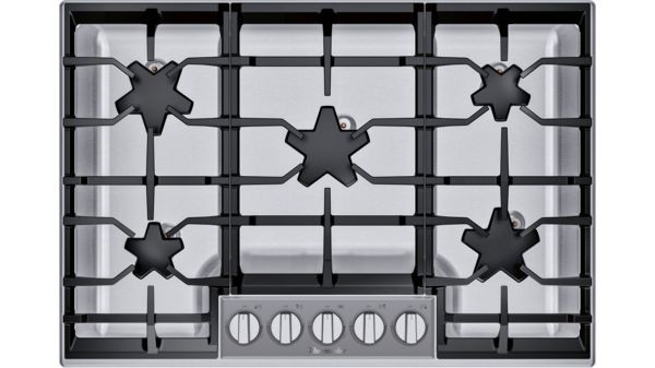 """Thermador 30"""" Gas Cooktop w/ Glass Control Panel"""
