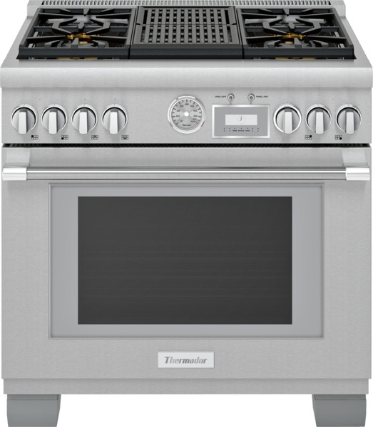 "Thermador 36"" All Gas Grand Pro Range w/ Electric Grill"