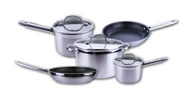 AEG 8 Piece Induction Cookware Set
