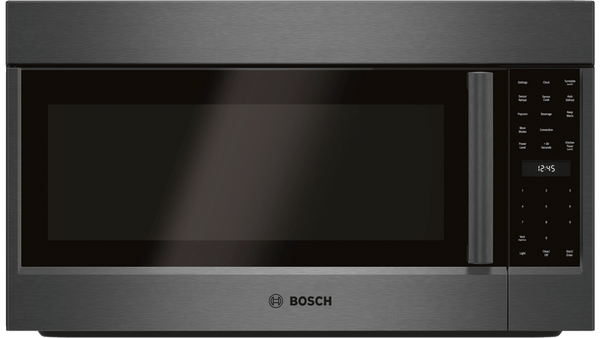 Bosch 800 Series OTR Microwave w/ convection - Black Stainless