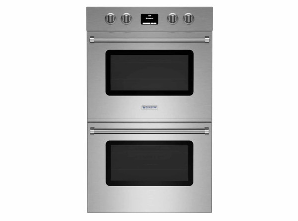 "BlueStar 30"" Electric Double Wall Oven, Drop Door Top & Bottom"