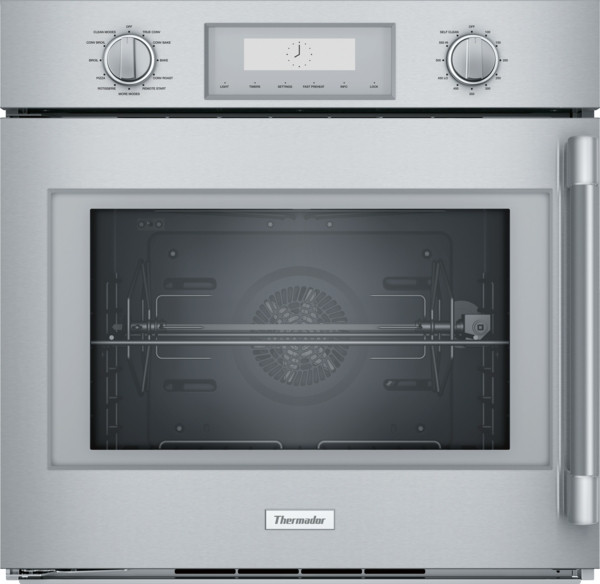 """Thermador 30"""" Professional Wall Oven w/ Extras - Left Swing"""