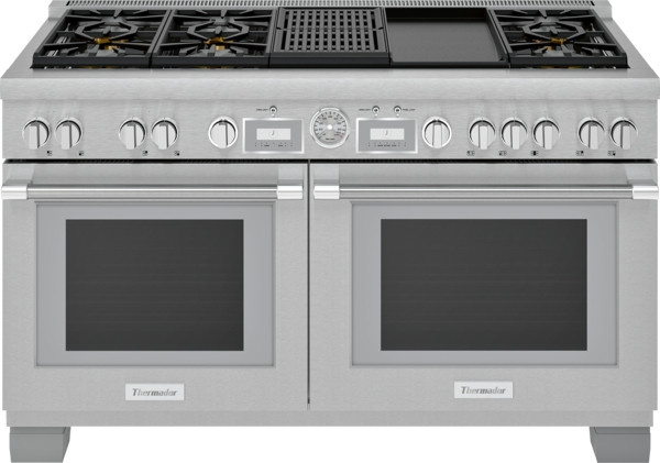 "Thermador 60"" Dual Fuel Grand Pro Range w/ Griddle & Grill"