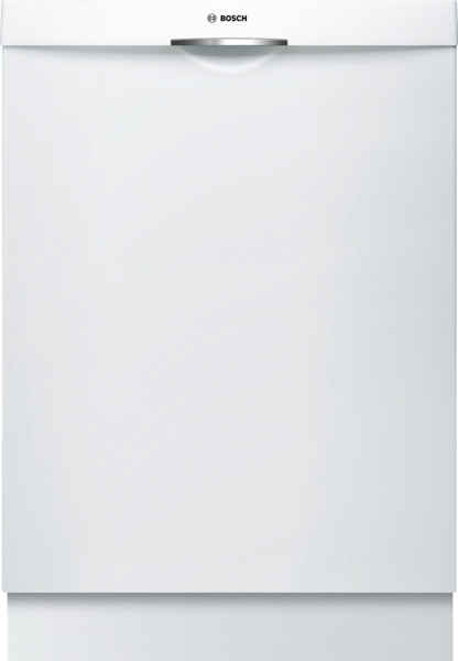 Bosch 300 Series Deluxe Scoop Handle Dishwasher - White