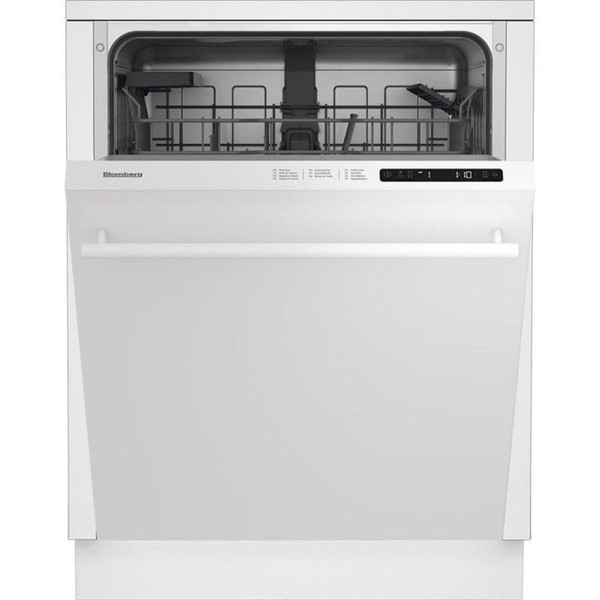 "Blomberg 24"" Dishwasher w/ Top Control & 6 Cycles - White"