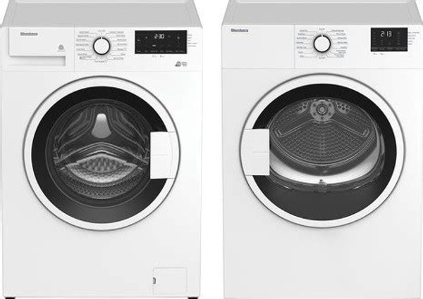 Blomberg Laundry Pair - Front Load Washer & Vented Dryer