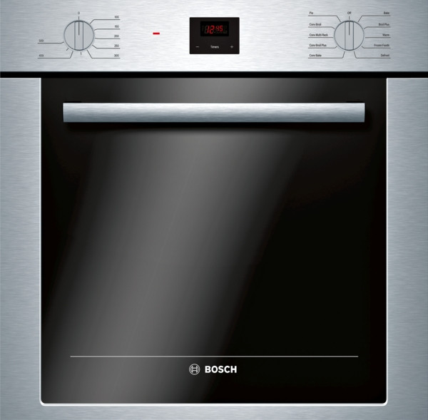 "Bosch 24"" 500 Series, Single Wall Oven w/ Knob Control"