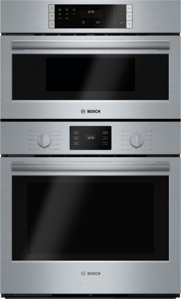 """Bosch 30"""" 500 Series Microwave & Wall Oven"""