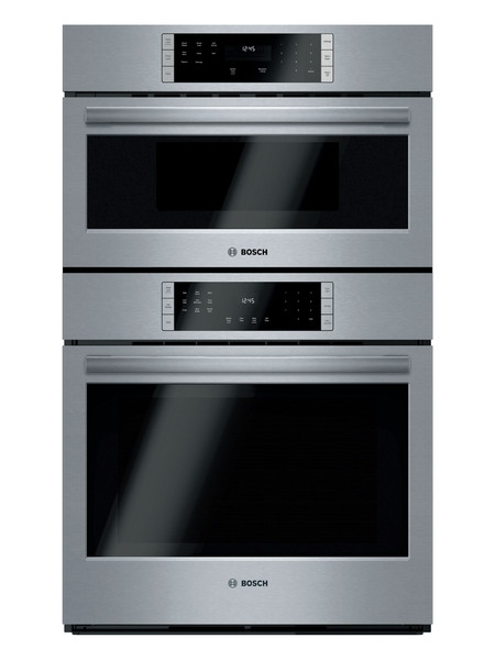 """Bosch 30"""" 800 Series Microwave & Wall Oven"""