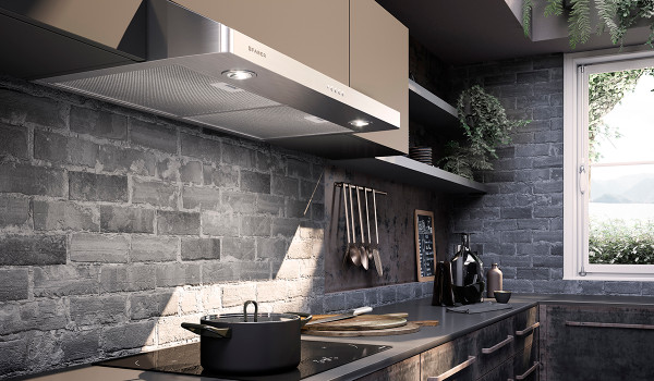 """Faber Levante I 30"""" Under Cabinet Hood - SS"""